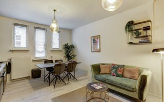 Perfect gerenoveerd en zeer charmant duplex 1-slaapkamer appartement te koop op TOPLOCATIE in Antwer...