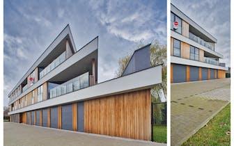 Appartement met 2 slaapkamers en ruim terras in Waarschoot te koop met zowel autostaanplaats als gar...