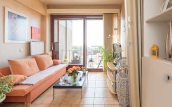 Instapklare studio met zonneterras in de Residentie Annick, Henri Jasparlaan 184 Westende . De studi...