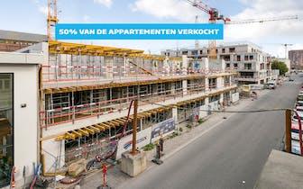 50% VAN DE APPARTEMENTEN REEDS VERKOCHT!  Dockside Gardens ligt aan de ontwikkeling Dok Noord, een n...