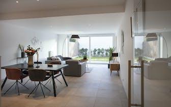 Kom dit appartement bezoeken tijdens de opendeurdag op zaterdag 14/12 tussen 10u30 en 12u!  Dit inst...