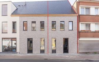 Lichtrijke nieuwbouwoning met drie slaapkamers en leuke tuin te koop te Bissegem (Kortrijk)